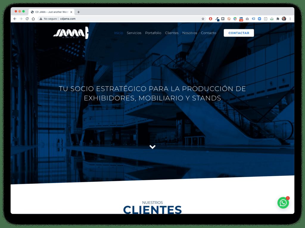 cd jama - Galería de Sitios Web