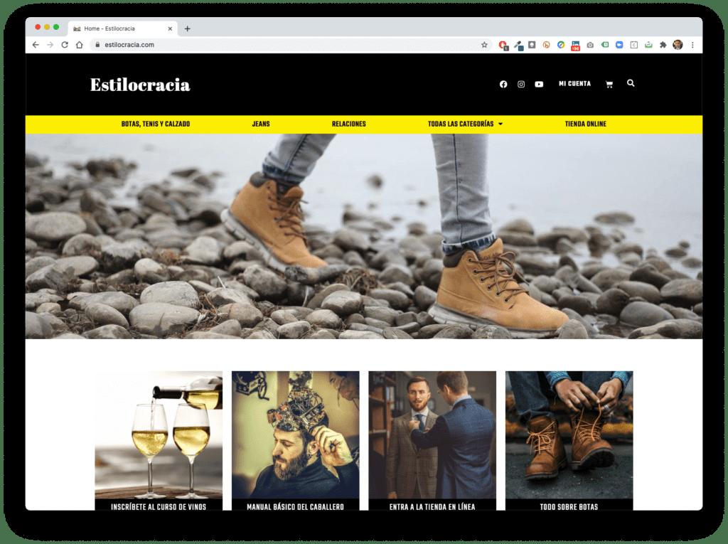 estilocracia - Galería de Sitios Web