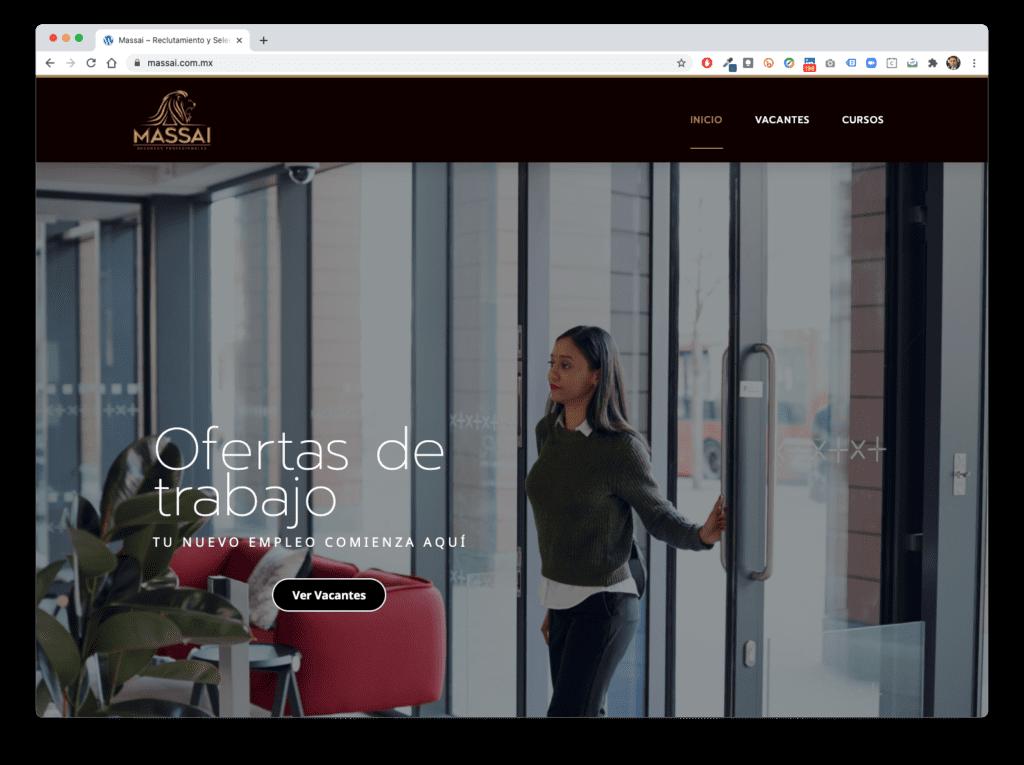 massai - Galería de Sitios Web