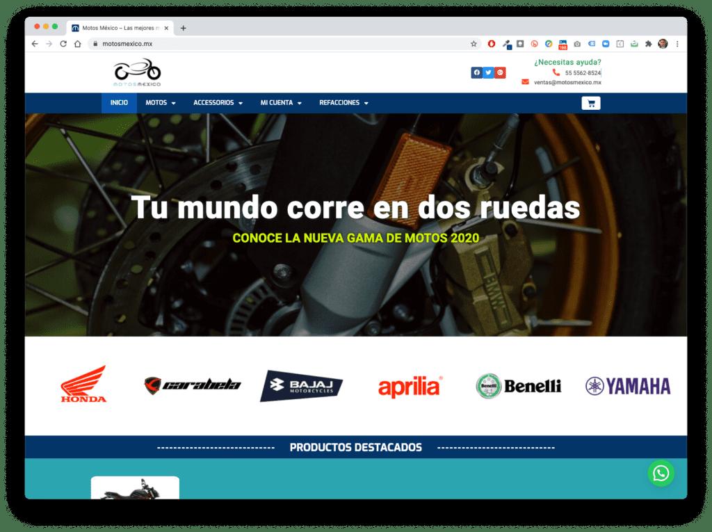 motos mexico - Galería de Sitios Web