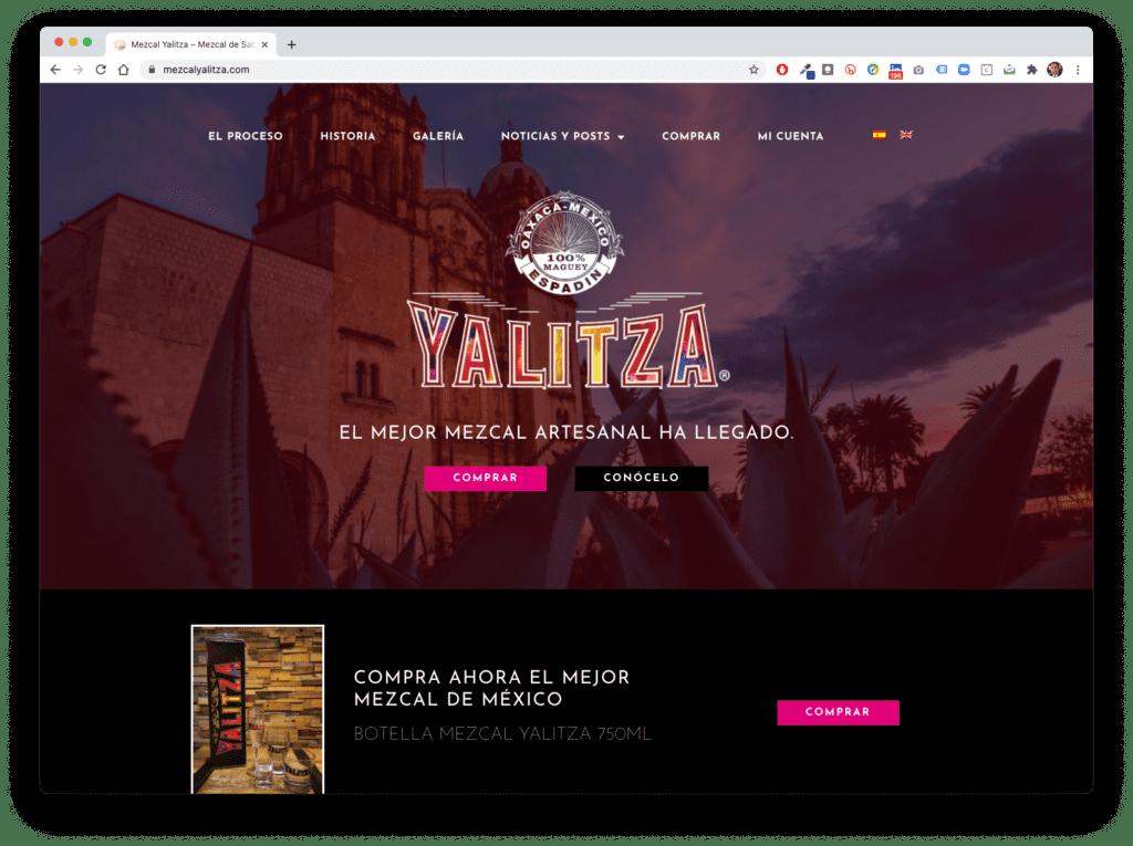 yalitza - Galería de Sitios Web