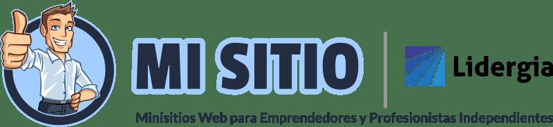 Mi Sitio por Lidergia Logo