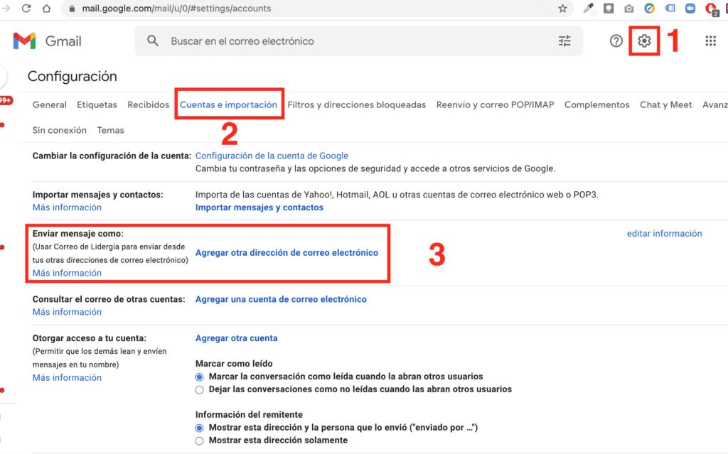 Enviar correo como alias en Google workspace